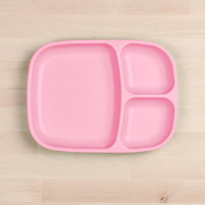 Re-Play Divided Tray - Baby Pink