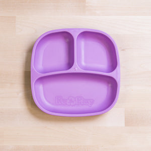 Re-Play Divided Plate - Purple