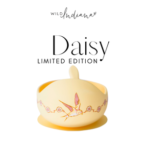 Silicone Bowl Set - LIMITED EDITION DAISY