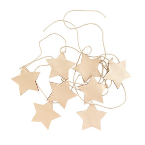 Star Garland - Gold
