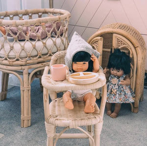 Rattan Dolls Bassinet - Tutu Irresistible Boutique