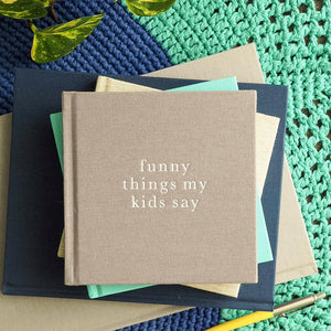 Funny Things My Kids Say | Grey - Tutu Irresistible Boutique