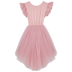 Libby Lace Tutu Dress - Tea Rose - Tutu Irresistible Boutique