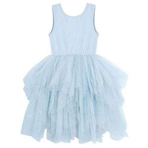 Melody Dress - Blue - Tutu Irresistible Boutique