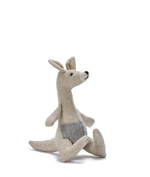 Mini Kylie Kangaroo Rattle - Tutu Irresistible Boutique