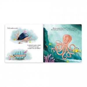The Fearless Octopus Book - Tutu Irresistible Boutique
