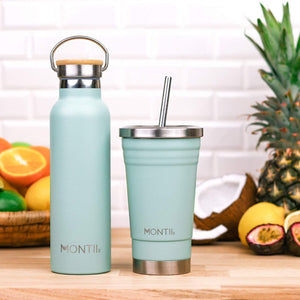 MontiiCo Original Smoothie Cup - Eucalyptus - Tutu Irresistible Boutique