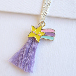 Shooting Star Necklace - Tutu Irresistible Boutique