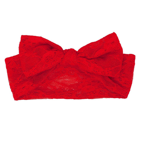 Christmas Lace Headband - Tutu Irresistible Boutique