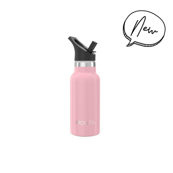 MontiiCo Mini Drink Bottle - Dusty Pink