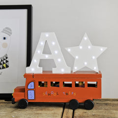 White Star Light Up Letter