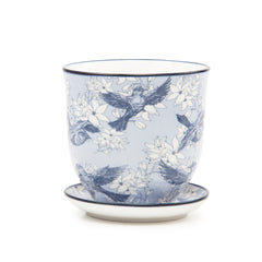 Blue Bird Liberte Plant Pot