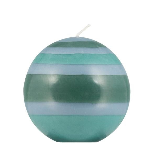 Sky, Marine & Cobalt blue Ball Candle