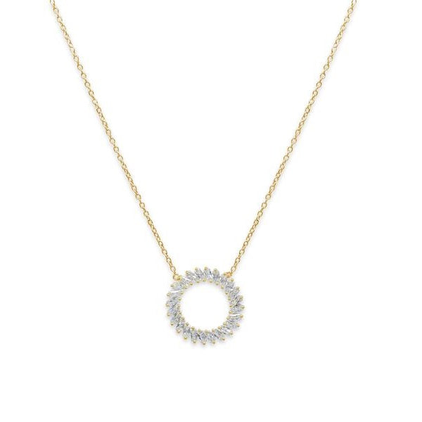 Catherine Wheel Necklace