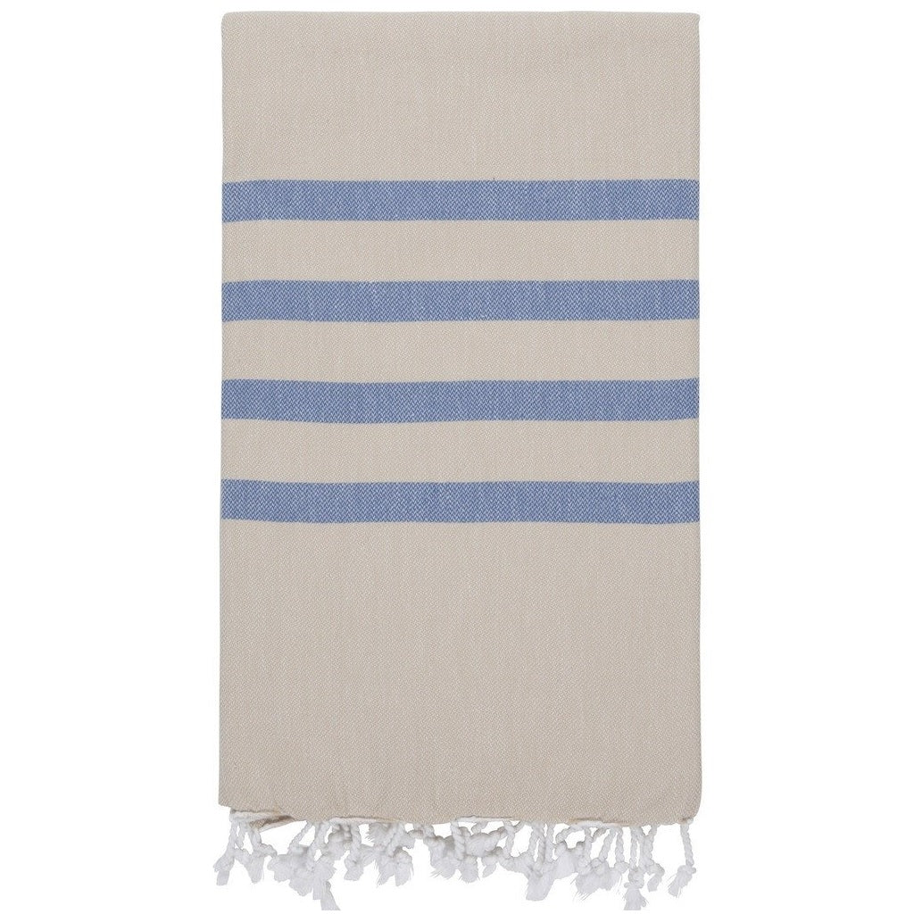 Biscuit / Denim Men's Hamam Towel