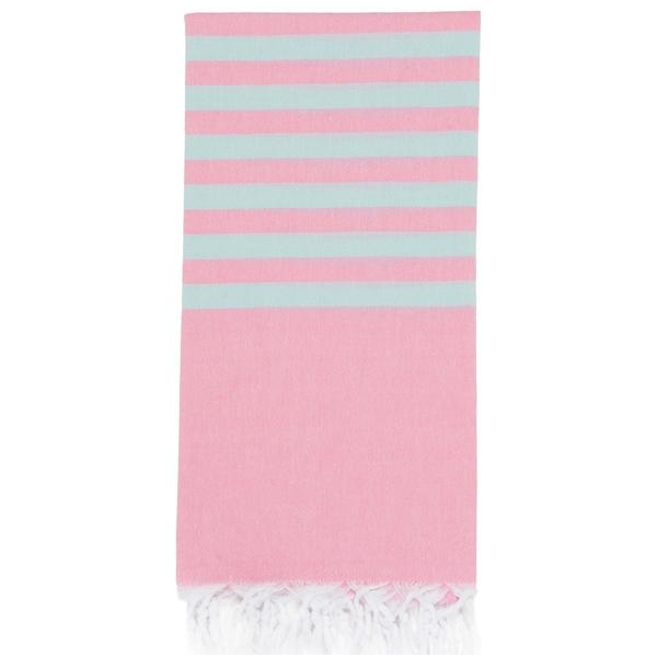Lightweight Hamam Towel Ice / Baby Pink