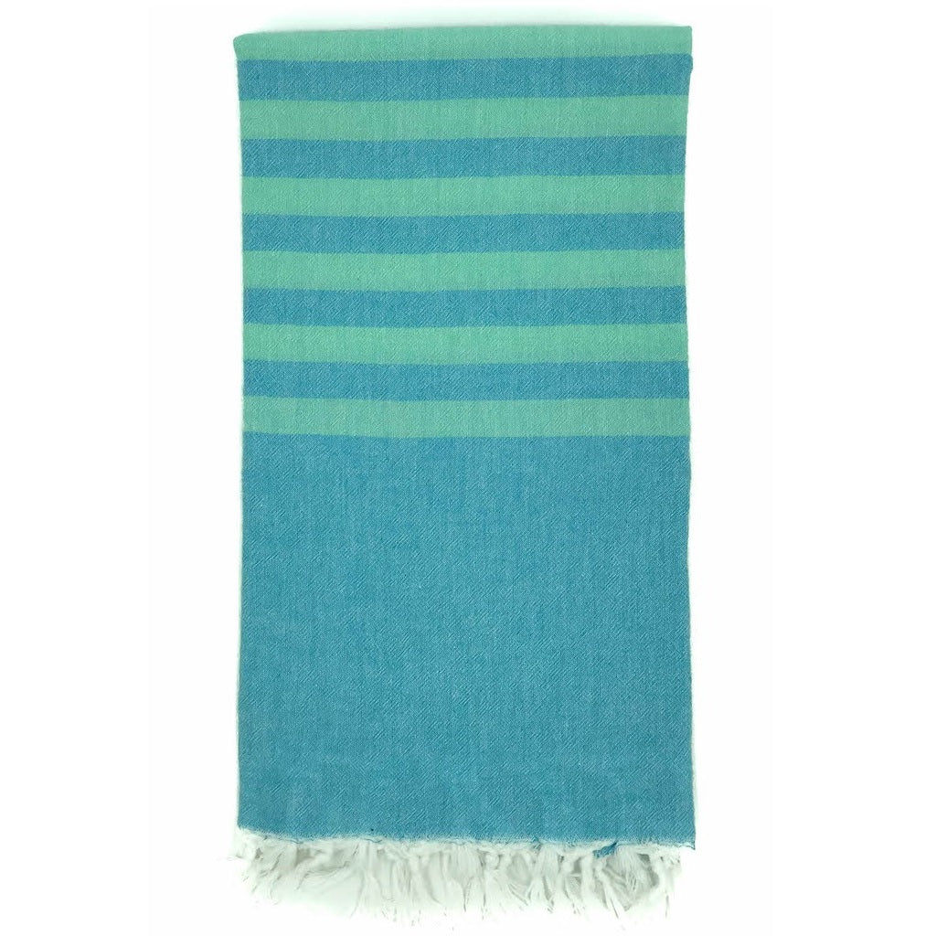 Ice blue / aqua Hamam Towel
