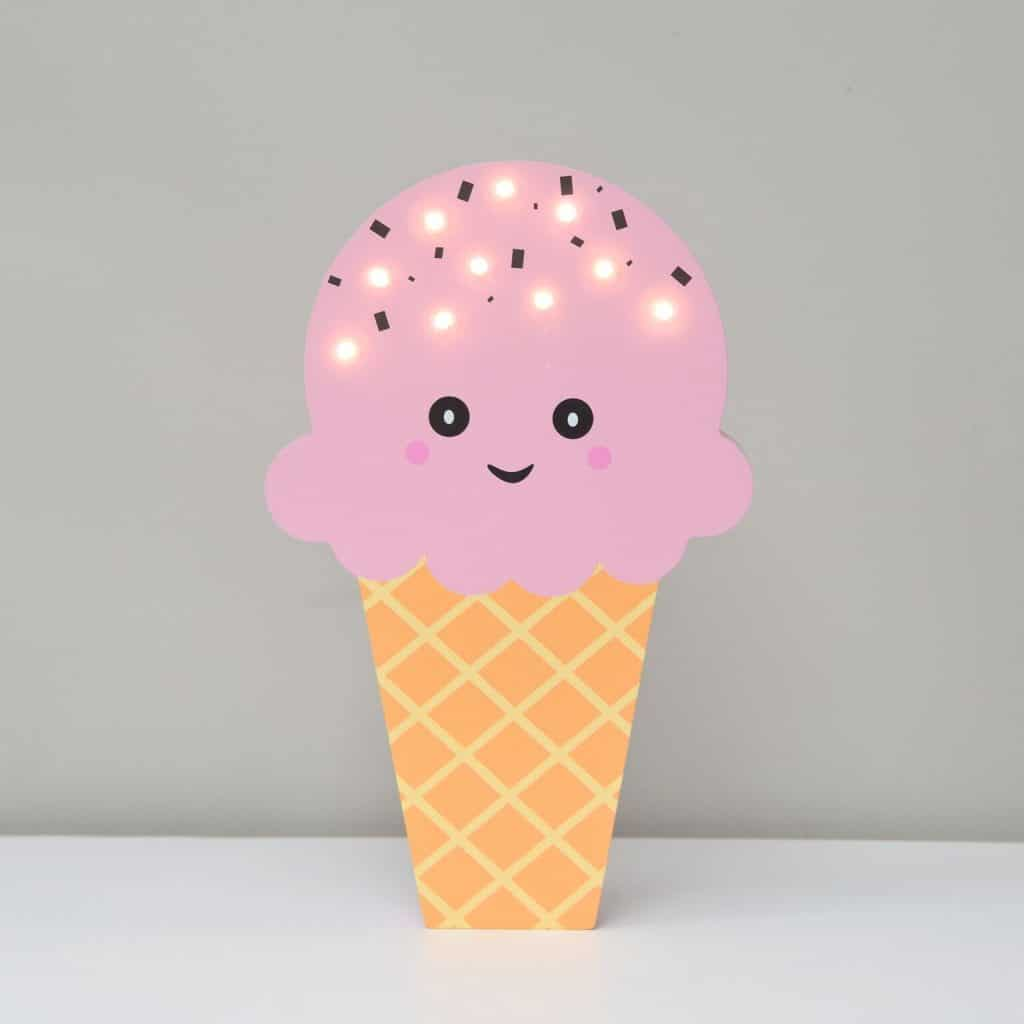 Light Up Pink Ice Cream