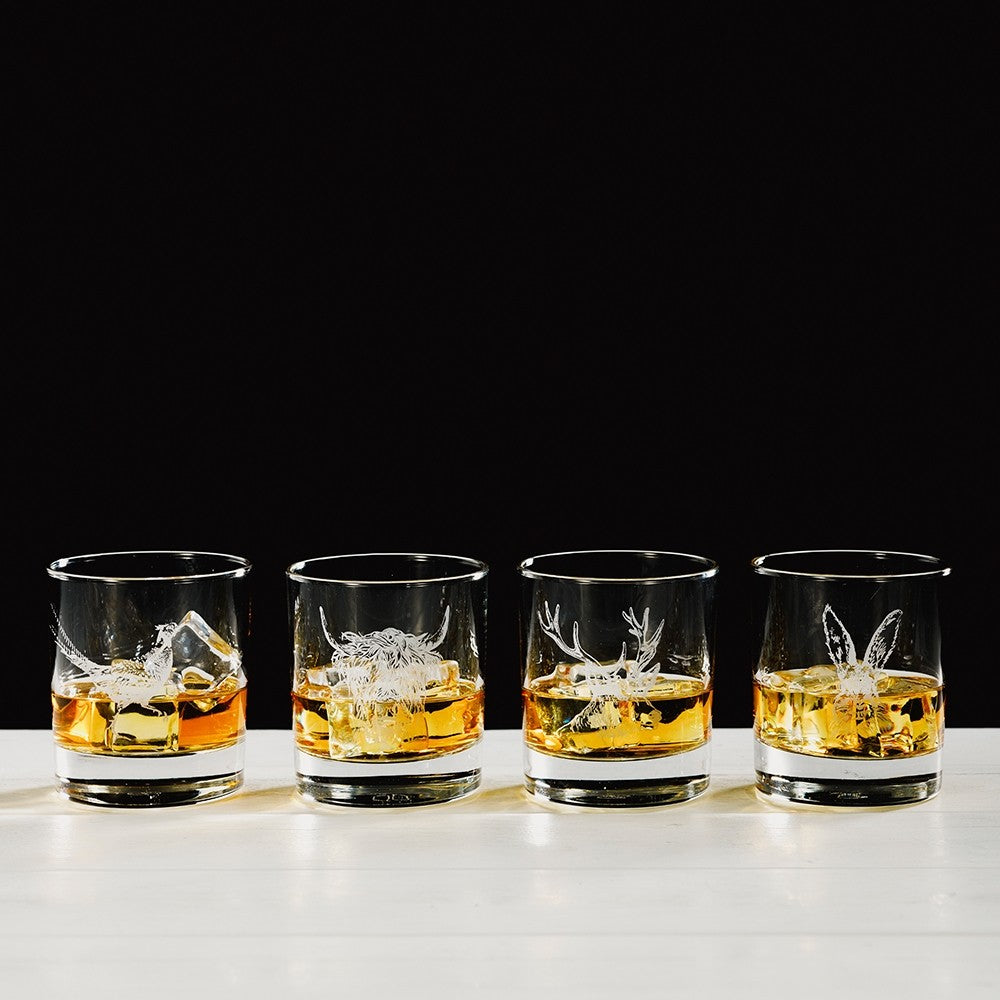 Engraved Glass Gift Set