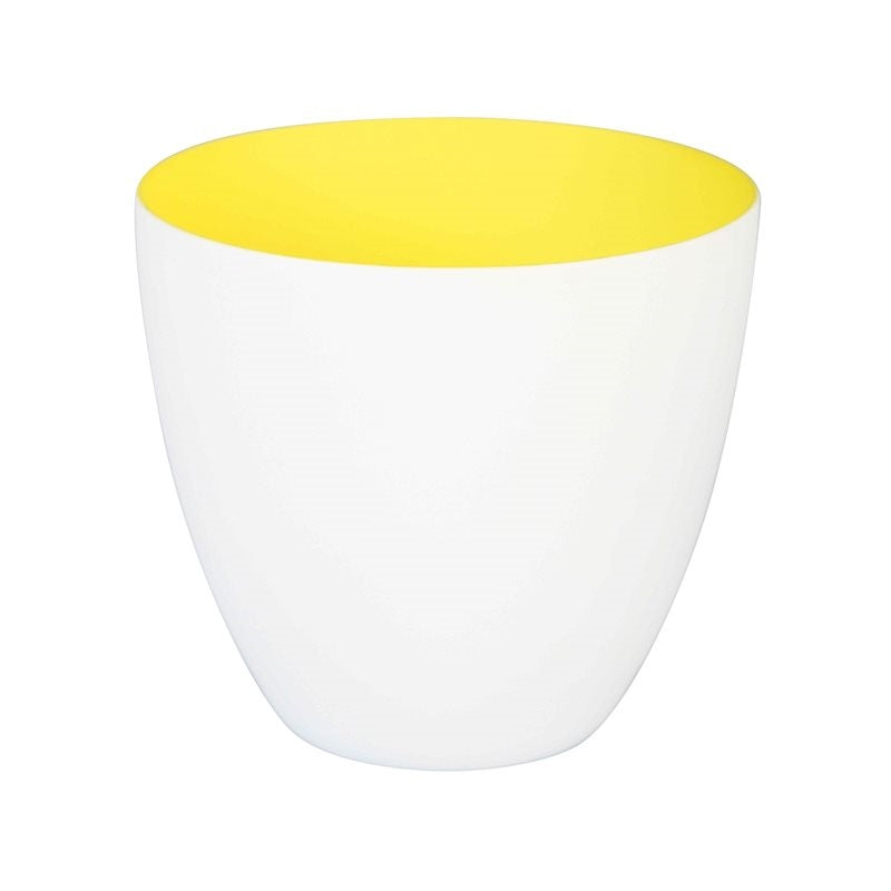 Large Summery Yellow T light holder