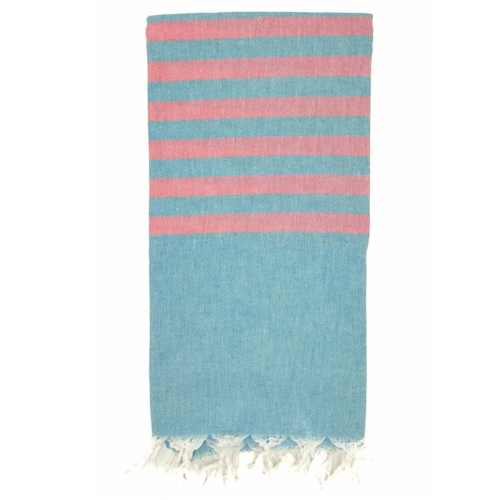 Marine / Grapefruit Hamam Towel