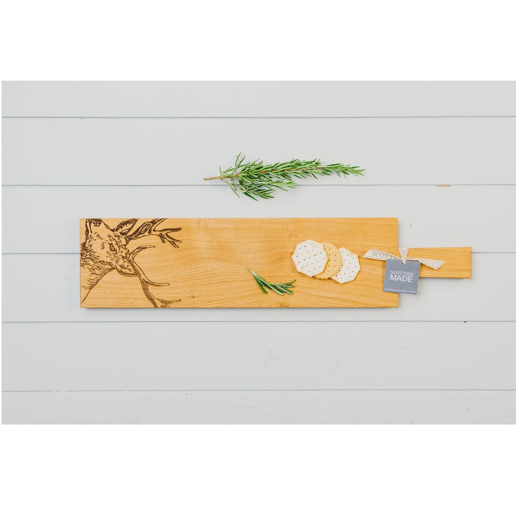 Stag Oak Paddle Serving Board