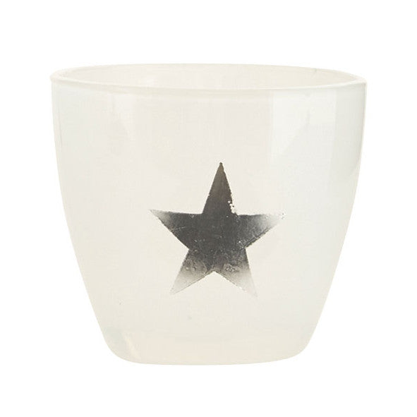 Star Tealight Holder - Silver