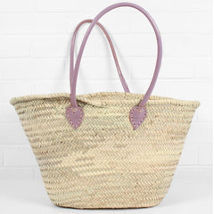 Souk Shopper with Vintage Pink handles