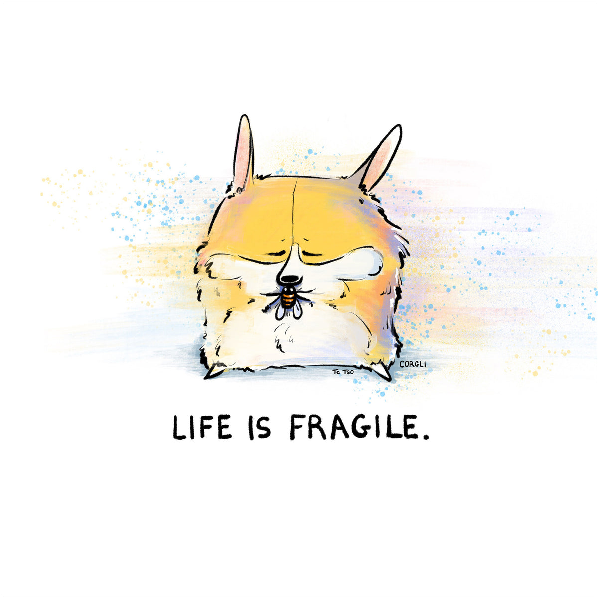 Life Is Fragile Print