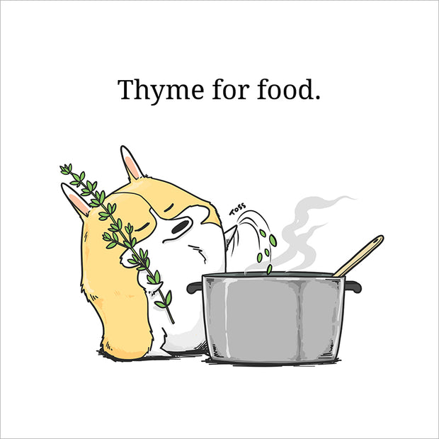 Thyme for Food Print