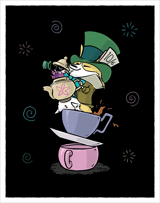 Mad Hatter Print