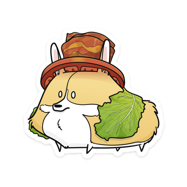 Corgli BLT sticker.