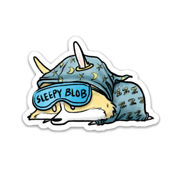 Sleepy Blob Sticker