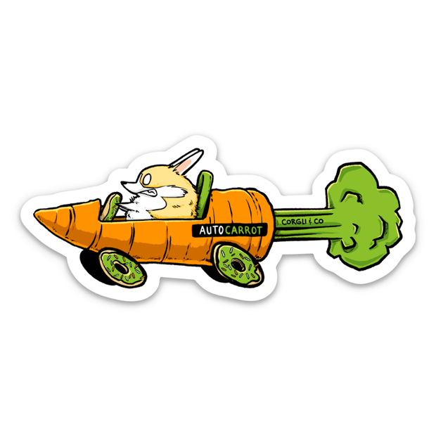 Auto Carrot Sticker