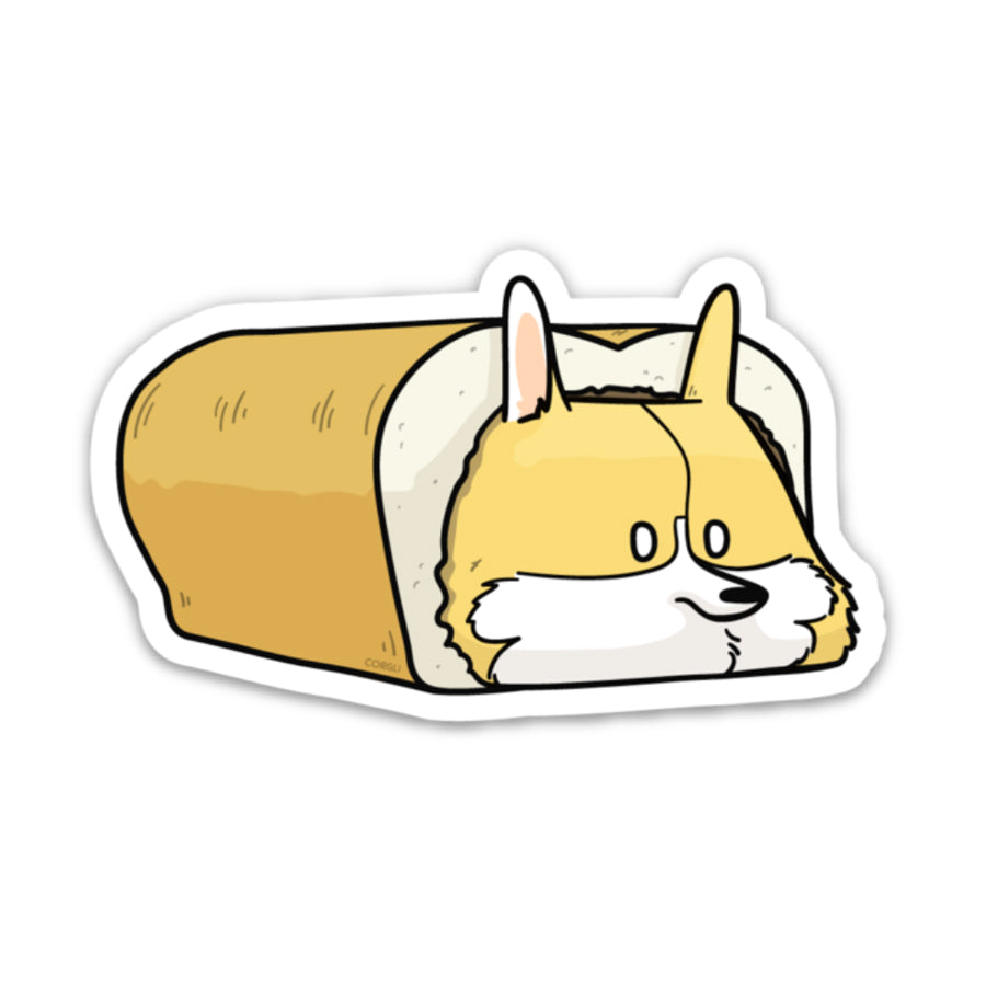 Stay in Bread All Day Sticker