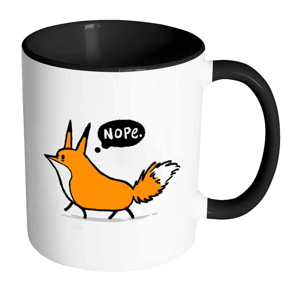 Nope Zaki Mug - 11oz