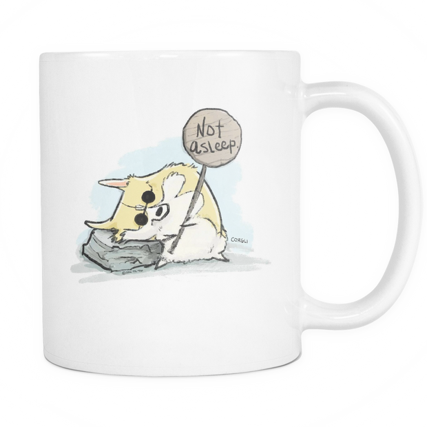 Not Asleep Mug - 11oz