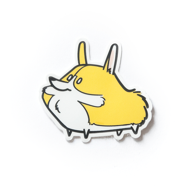 Corgli Mini Sticker - 2 Pack
