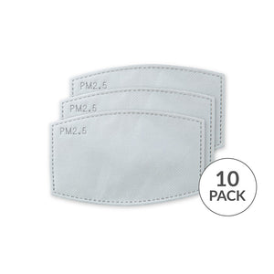 Disposable Facemask Filters (10 pack)