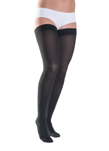 Plus Size - Class 3 Thigh with Knobbed grip-top