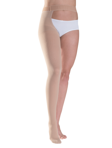 LEFT - Plus Size - Class 1 Thigh with Waist attachment