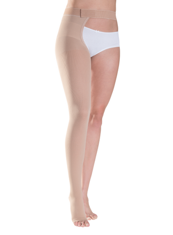 RIGHT - Plus Size - Class 1 Thigh with Waist attachment