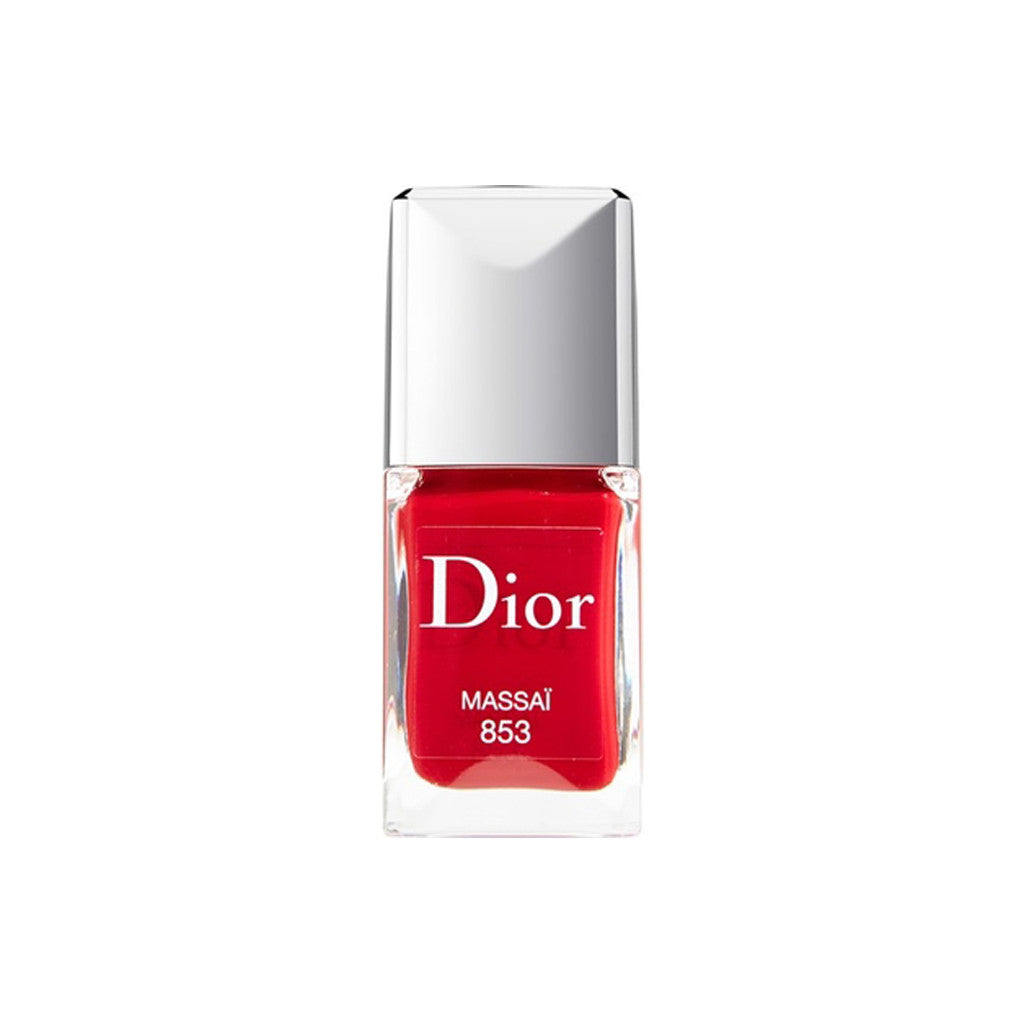 Dior Vernis - Gel Shine & Long Wear Nail Lacquer (853 Massai) - 10ml - brandstoreuae