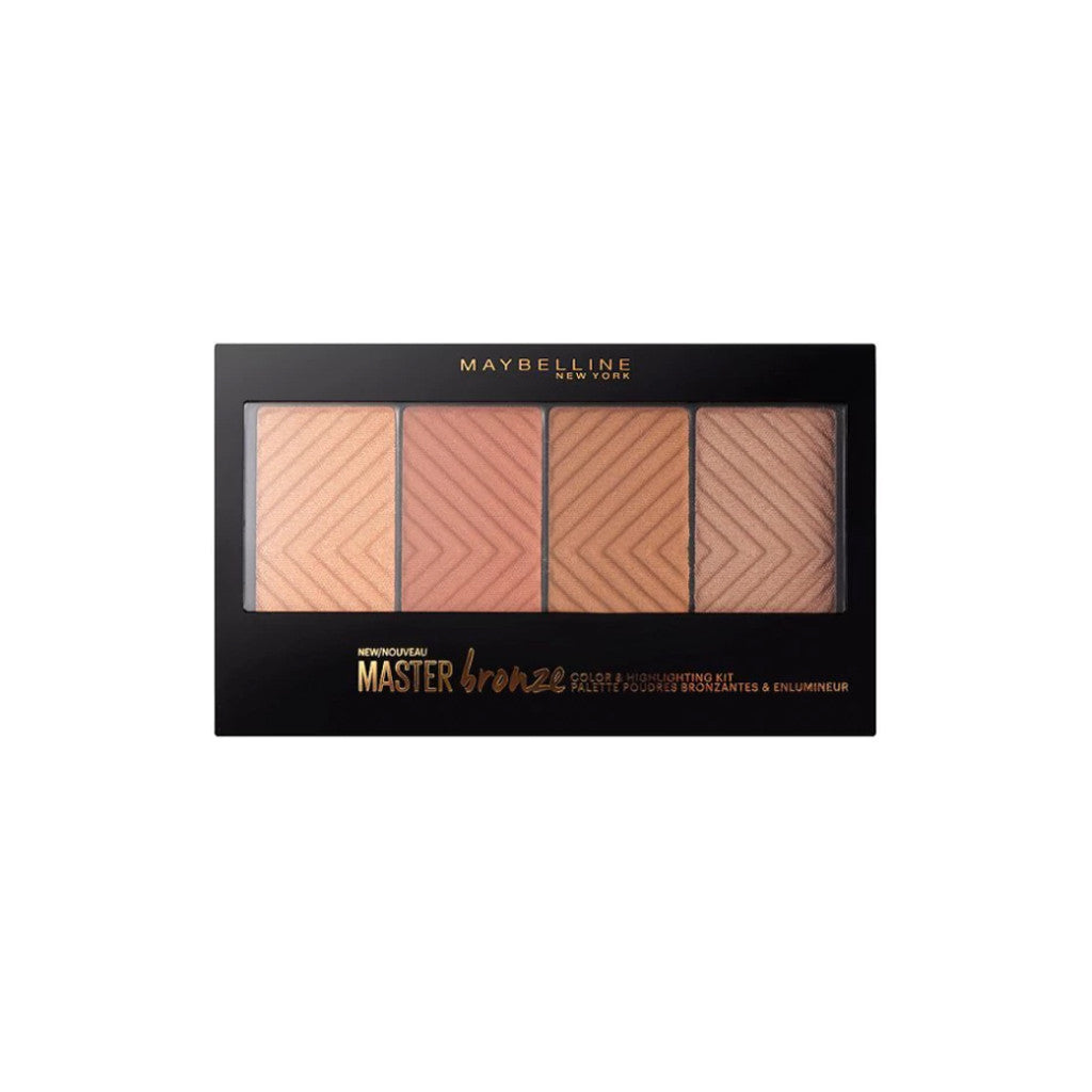 Maybelline New York - Master Bronze Color Palette and Highlighting Kit - brandstoreuae