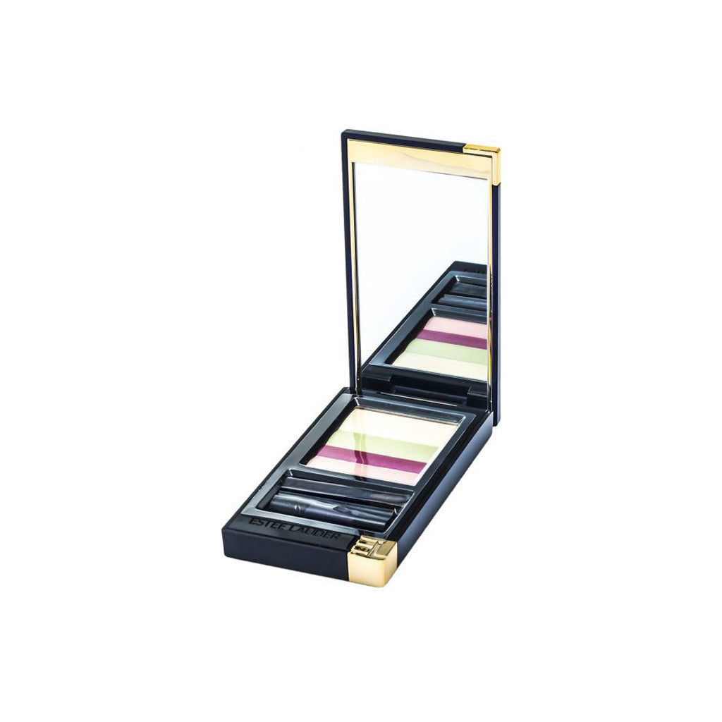Estee Lauder - Graphic Color Eyeshadow Quad - 05 Charming Pink