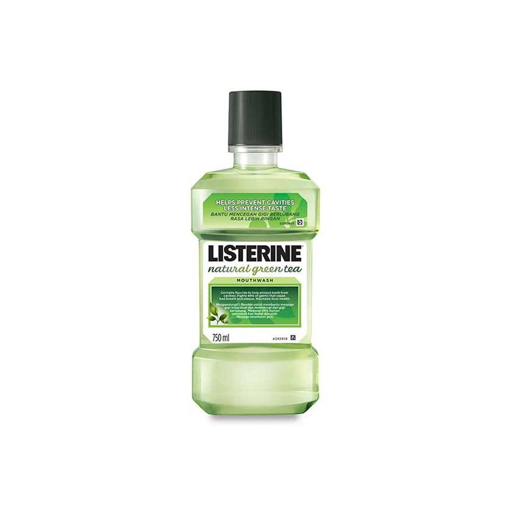 Listerine Mouth Wash - Green Tea Extract