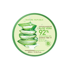 Nature Republic Aloe Vera 92% Gel - 300 ml - brandstoreuae