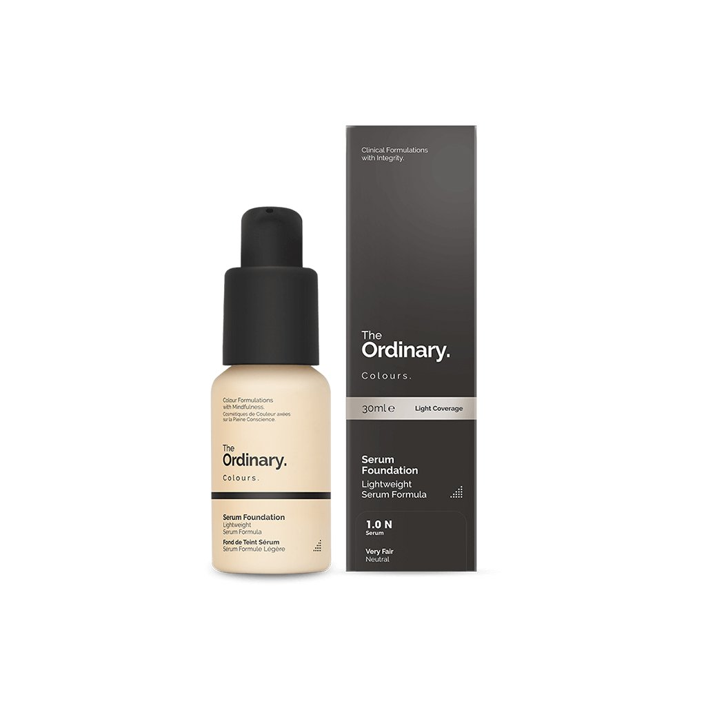 The Ordinary - Coverage Foundation - 1.0P Very Fair - brandstoreuae