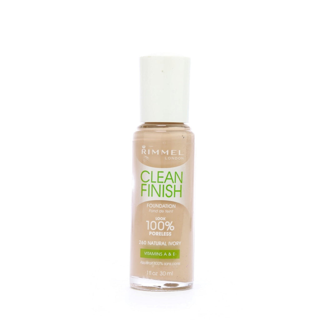 Rimmel London - Clean Finish Foundation - Natural Ivory 260 - brandstoreuae