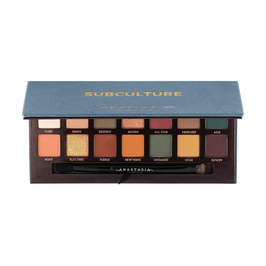 anastasia beverly hills,subculture eye shadow,dhs 205.00,14 shades,eye shadow palette,eye shadow,www.brandstore.ae,anastasia uae